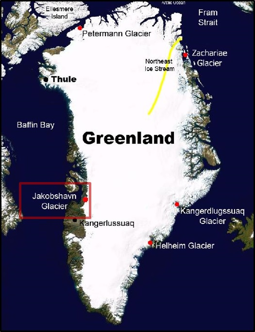 NASA STUDY: ONE OF THE FASTEST SHRINKING GREENLAND GLACIERS IS GROWING AGAIN