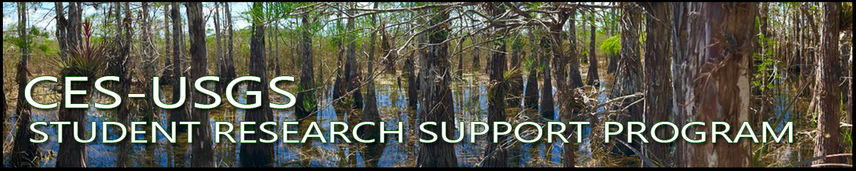 CES-USGS Student Research Support Program